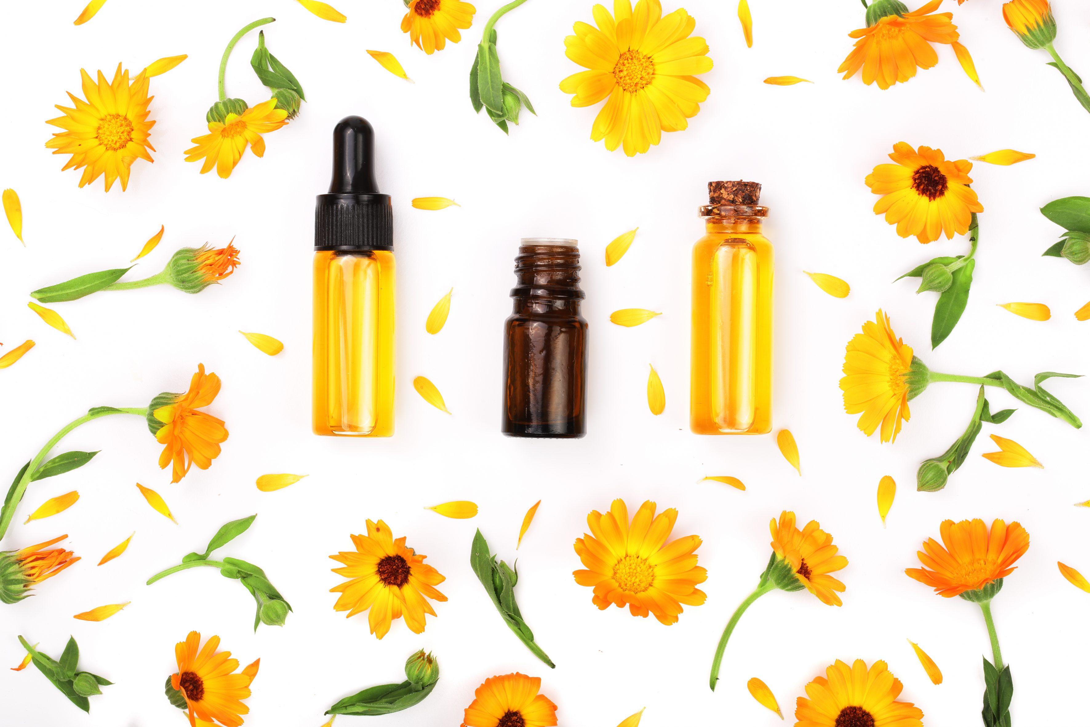 beneficios del aceite de calendula en la piel
