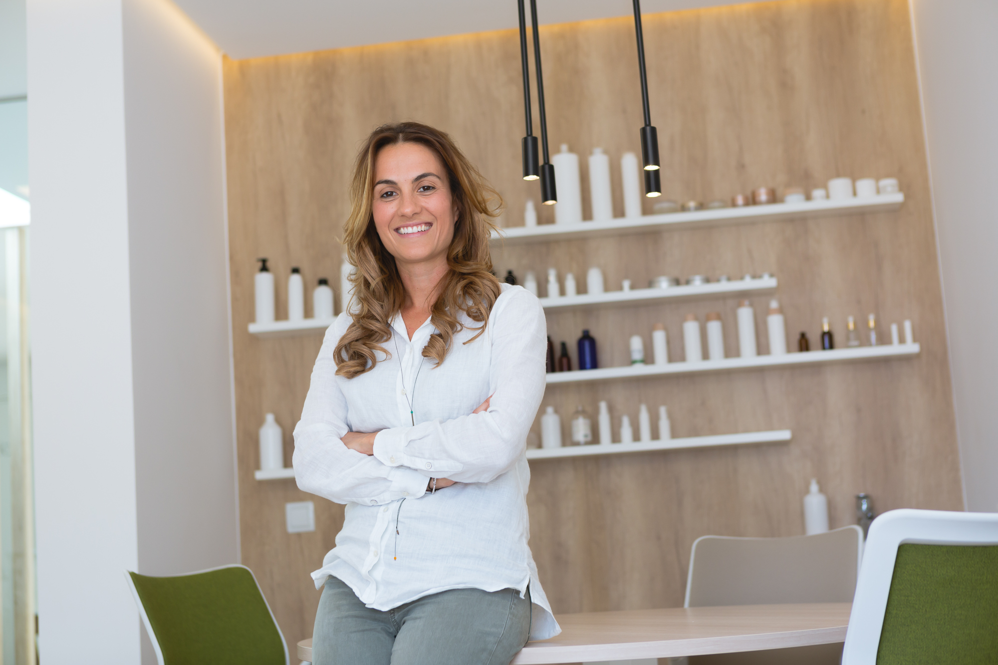 Carolina Robla, directora de Natural Cosmetic Lab